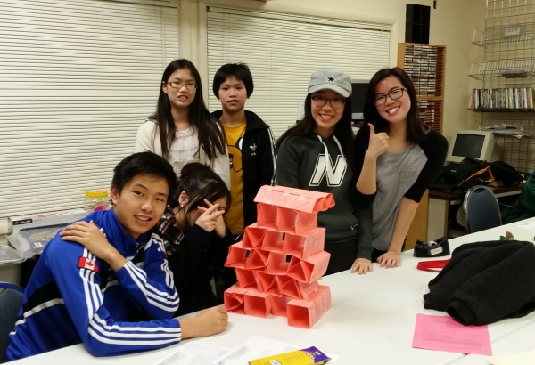 "Team 3 tower ""The Beauty"""